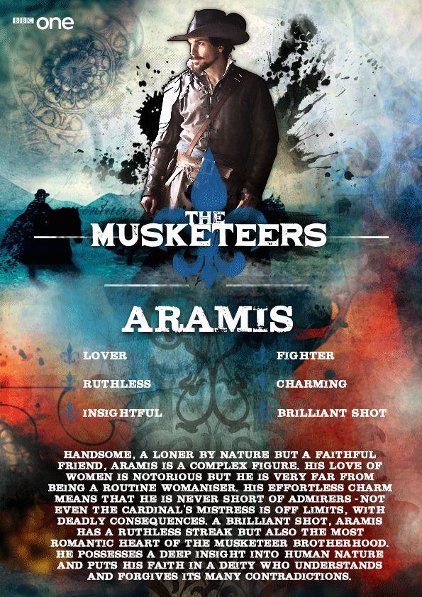 Meet Aramis (Santiago Cabrera) - The Musketeers
