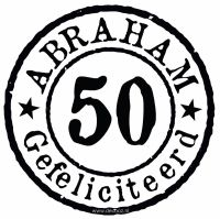 Sticker 'Abraham'