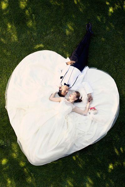 40 idées créatives de photos de mariages que vous aurez envie de vous approprier !