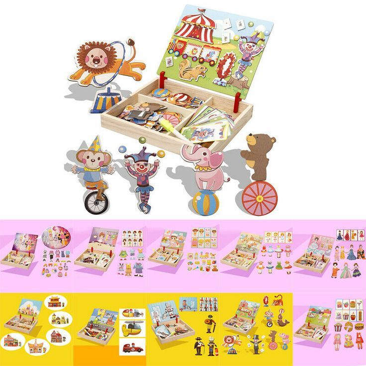 Ebay Sponsored 1 Stuck Puzzle Spielzeug Kinder Magnetisch Doppelseitig 3 Jahr Puzzle Toys Baby Toys Toys