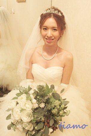 とっても可愛い花嫁さまのこだわりお洒落Wedding♡♡ |大人可愛いブライダルヘアメイク『tiamo』の結婚カタログ