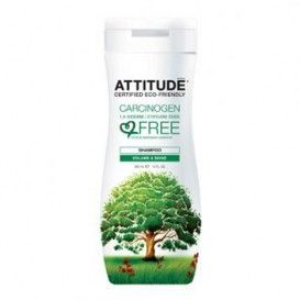 Sampon organic Attitude Volume & Shine - pret mic pentru calitate garantata! Prin spalarea parului cu sampon ATTITUDE cu ingredient naturale necontaminate. Obtineti stralucirea pe care o meritati, fara compusi cancerigeni in produse, cum ar fi 1,4-dioxan sau oxid de etilena. Fa-o pentru tine! CARACTERISTICI: - Certificate EcoLogo,CCD-103 pentru produse de ingrijire personala, un program de Mediu Canada. - CO2 neutru: nu contribuie la schimbarile climatice. -
