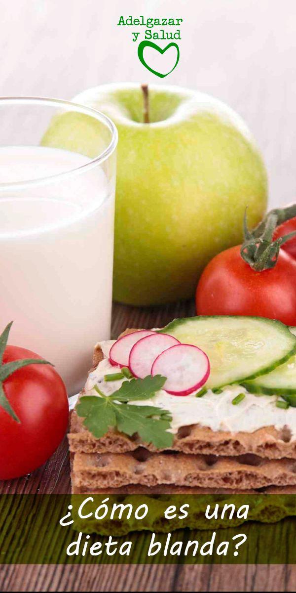 Una #dieta blanda se sigue cuando se tienen #problemas #digestivos o se necesita reducir la irritación y el #malestar gastrointestinal. Es una dieta astringente, por lo tanto la indicada para cuando se tiene diarrea. #Salud #Alimentos #Nutricion