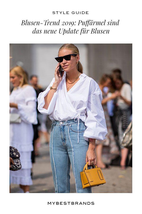 Puffärmel: der neue Blusen-Trend 2019 in 2019 | Damen Mode-Trends