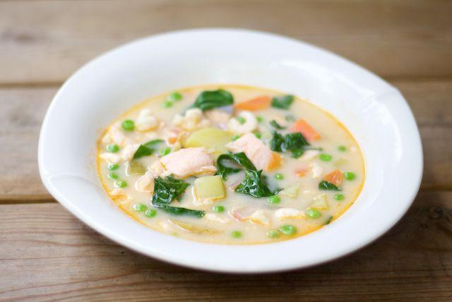Wonderful Tom Yam Gong soup. Ihana tom yam gong -keitto