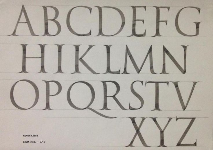 257 Best Calligraphy Romans And Variations Images On