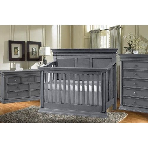 trendy baby furniture. Baby Chic Venice 3 Piece Nursery Set In Slate Trendy Furniture I