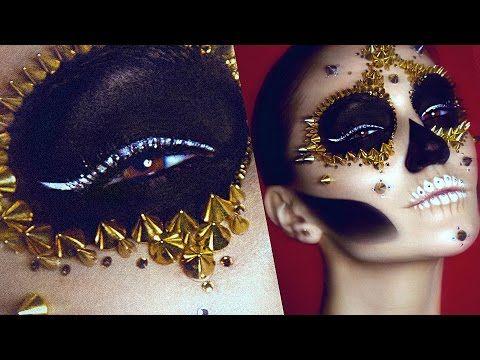 Best 25 Sugar Skull Makeup Tutorial Ideas On Pinterest