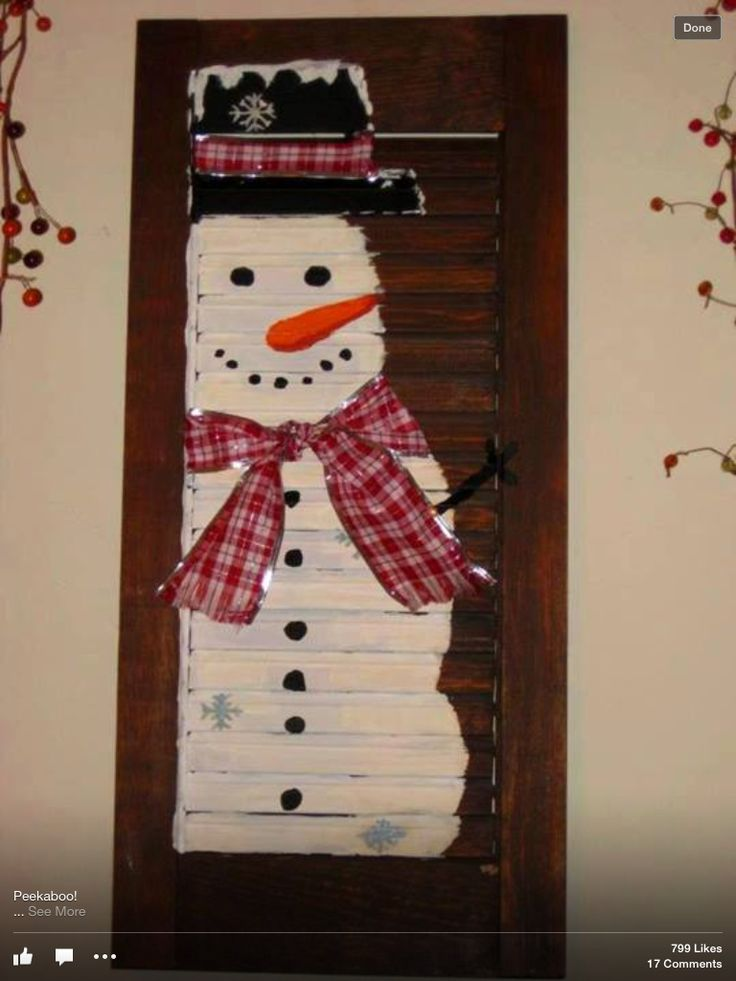 Old shutter snowman 15 best ideas for