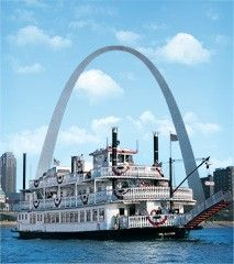 Buy your tickets to the Arch and Riverboat Cruise here and save $4 and get FREE parking.  You can also save $4 on movie if you see it on the same day.