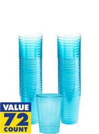 Plastic Cups - Plastic Stemware, Wine Glasses & Flutes - Party City 72 PK $10