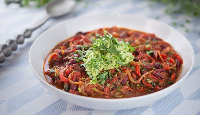 Vegan Coffee Chilli Con Carne | Good Chef Bad Chef