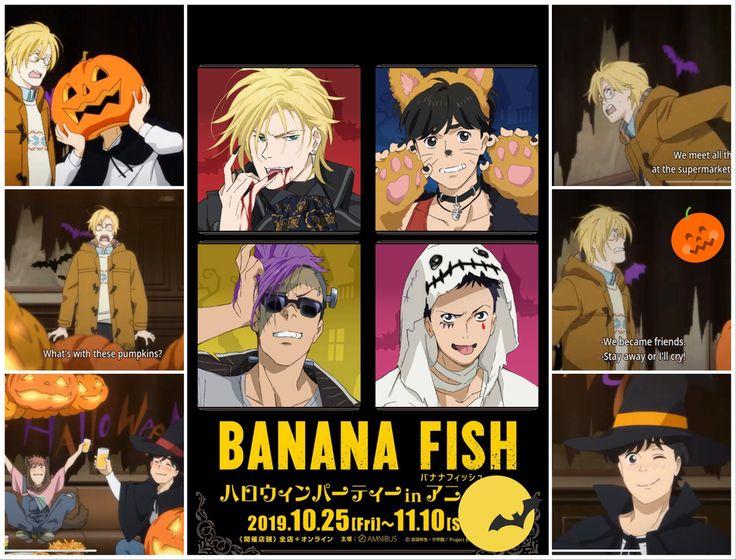Happy halloween to all banana fish lovers beware