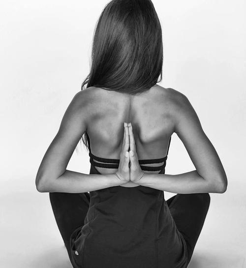 Reverse prayer hands