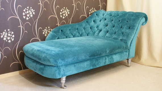 17 best images about furniture ideas on pinterest for Chaise longue bleu turquoise