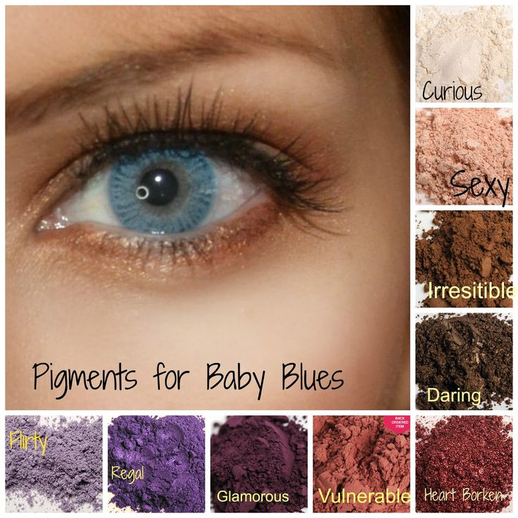Younique eye pigments for those Baby Blues! #blueeyes #pigment #younique http://www.youniqueproducts.com/jessicawebster