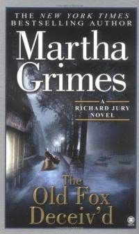 Basically, every Martha Grimes book is worth reading...engaging characters, historical references, humor, heartache...some of the most interesting protagonists in fiction, including Richard Jury and Melrose Plant