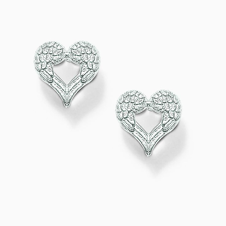 Thomas Sabo Winged Heart Stud Earrings