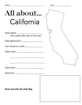 facts about california state flag