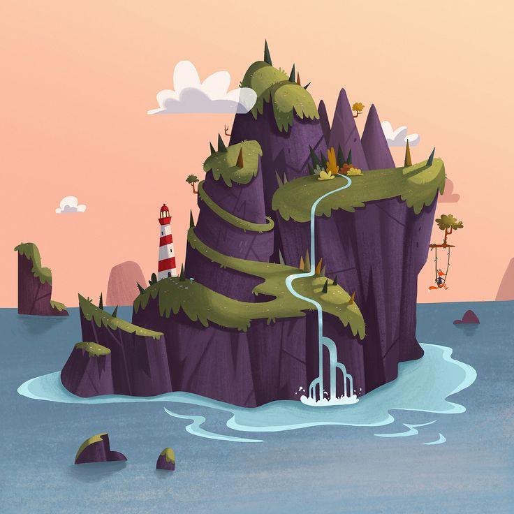https://www.behance.net/gallery/29831231/Fox-Island