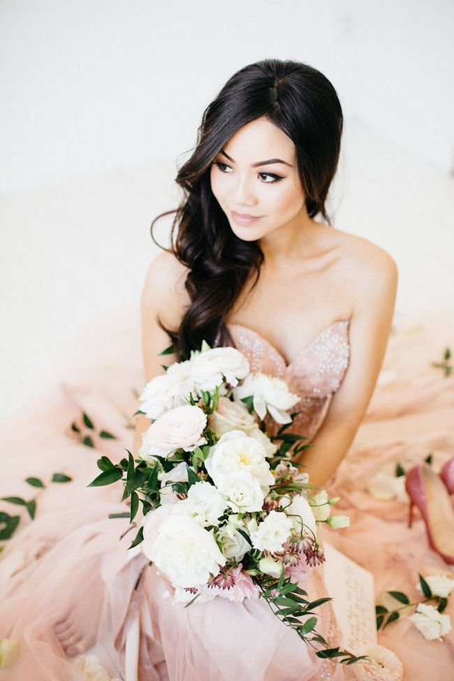 Beautiful Indoor Bridal Session with Four Knockout Gowns by Peaches With Honey | SouthBound Bride