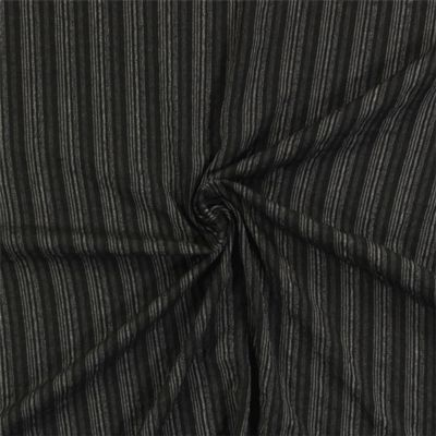 Proužky Vegas 1 - Polyester - Viskóza - Elastan - antracitová