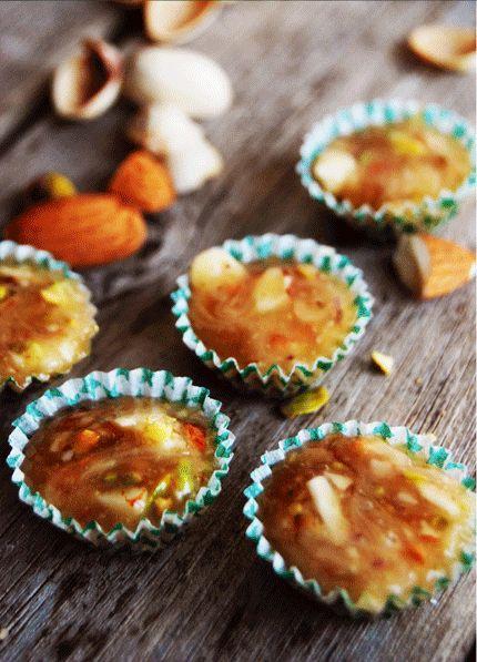 Pistage- och mandelknäck
