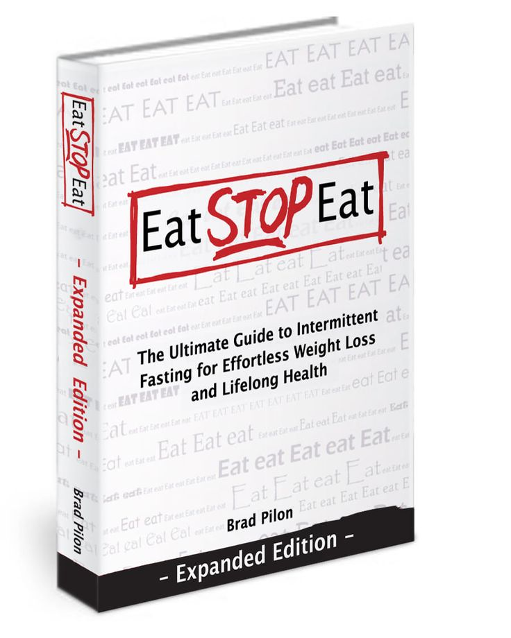 Eat Stop Eat The Fasting Diet Intermittent Fasting Brad Pilon