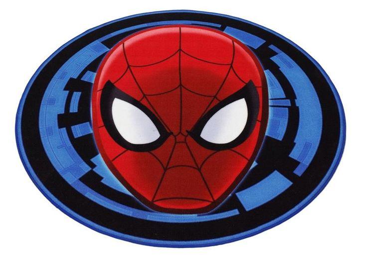 Cooler Teppich für das Kinderzimmer kleiner Superhelden