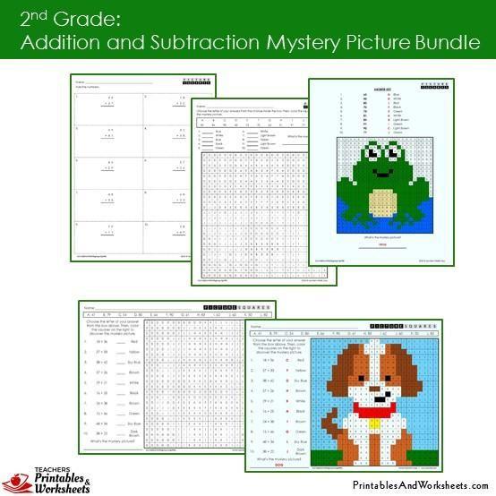 95 best 2nd Grade Math Worksheets images on Pinterest | Coloring ...