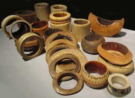 Bracelets africains de la collection Nancy Cunard © Photo Notes Précieuses
