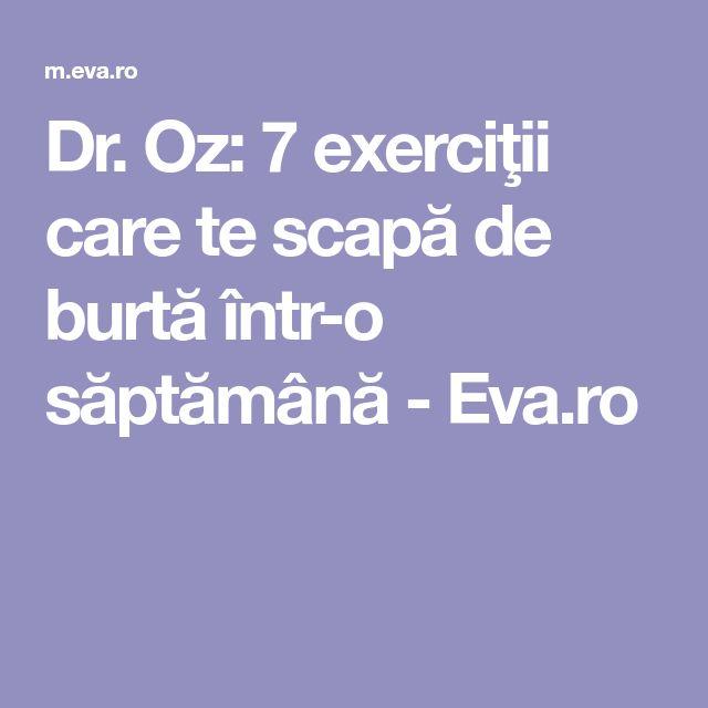 Dr. Oz: 7 exerciţii care te scapă de burtă într-o săptămână - Eva.ro