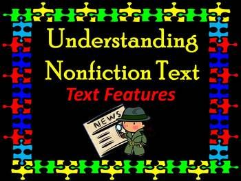 This packet contains an animated PowerPoint file to teach about non-fiction text features! This file has been left in PowerPoint format for you to easily adjust to your preference.