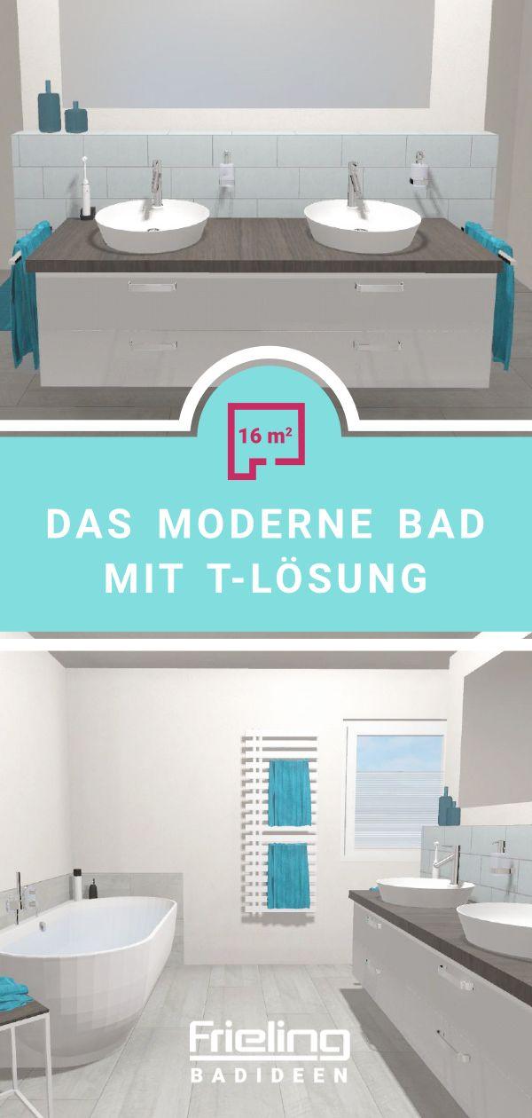 Das Moderne Bad Mit T Losung Ansicht Waschtisch Moderne Bader Grosse Badezimmer Bader Ideen