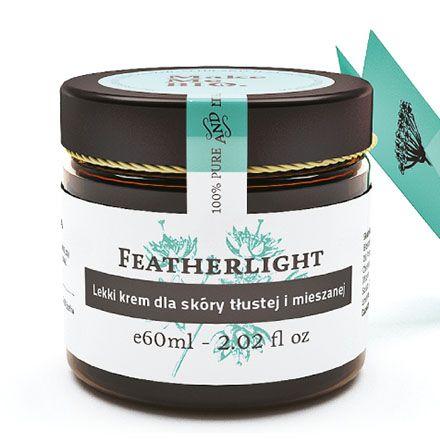 Oferta Featherlight - Lekki krem dla skóry tłustej i mieszanej 60ml Make Me Bio w asortymencie sklepu KuferekNatury.pl