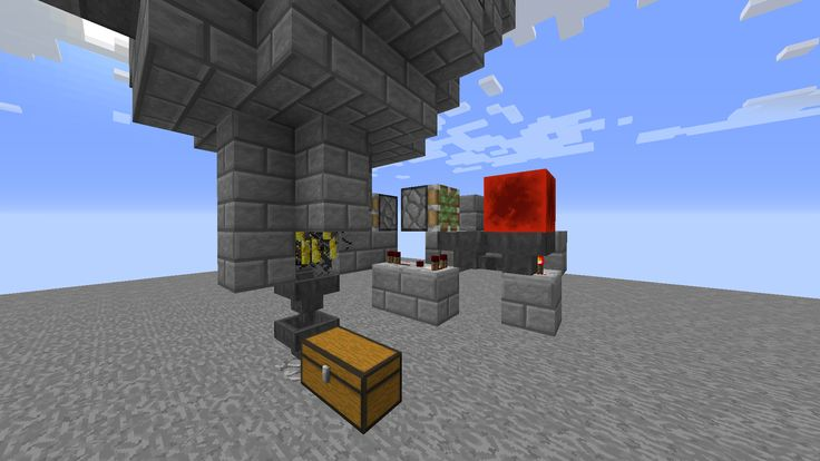 Blaze farm crusher (Redstone clock designed by Xisumavoid)