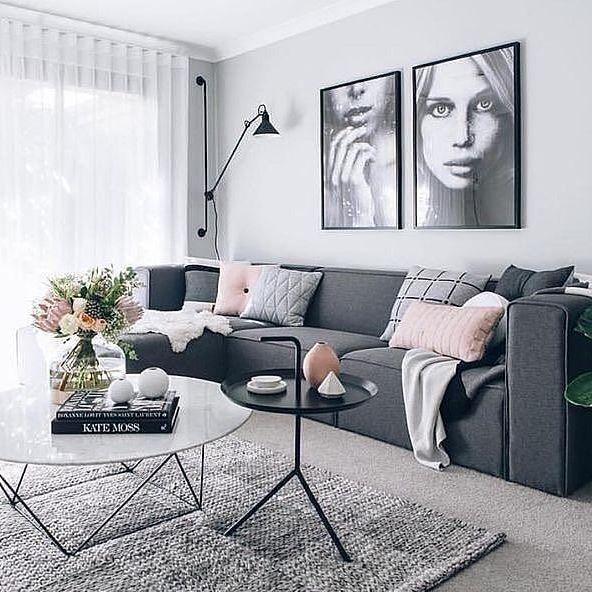 Nordic Simplicity Via Immyandindi Homedecor Minimalism Whiteliving Modern Living Roomsnordic