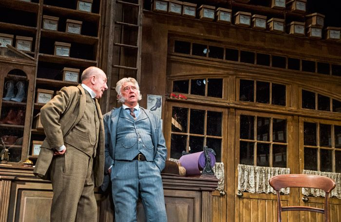 Hobson's Choice review at the Vaudeville Theatre, London – 'handsome but fusty'