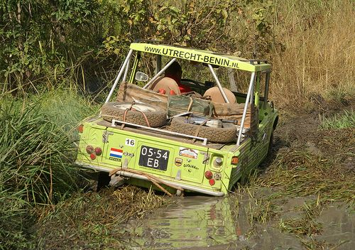 Flickr • Citroen 2CV Africa • Togo • mehari by Chris Corthouts