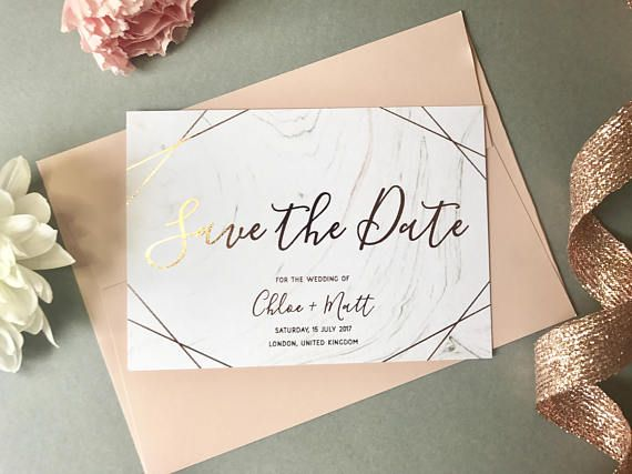 Autumn Wedding Save the Date Card  Marbled Save the Date Card  Watercolour Save the Date   Save the Date Card  Wedding Invitations