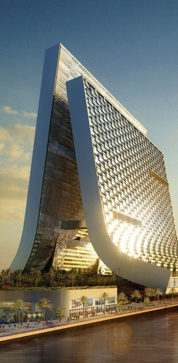Marina Beach Towers, Dubai, UAE by Oppenheim Architecture and Design :: proposal