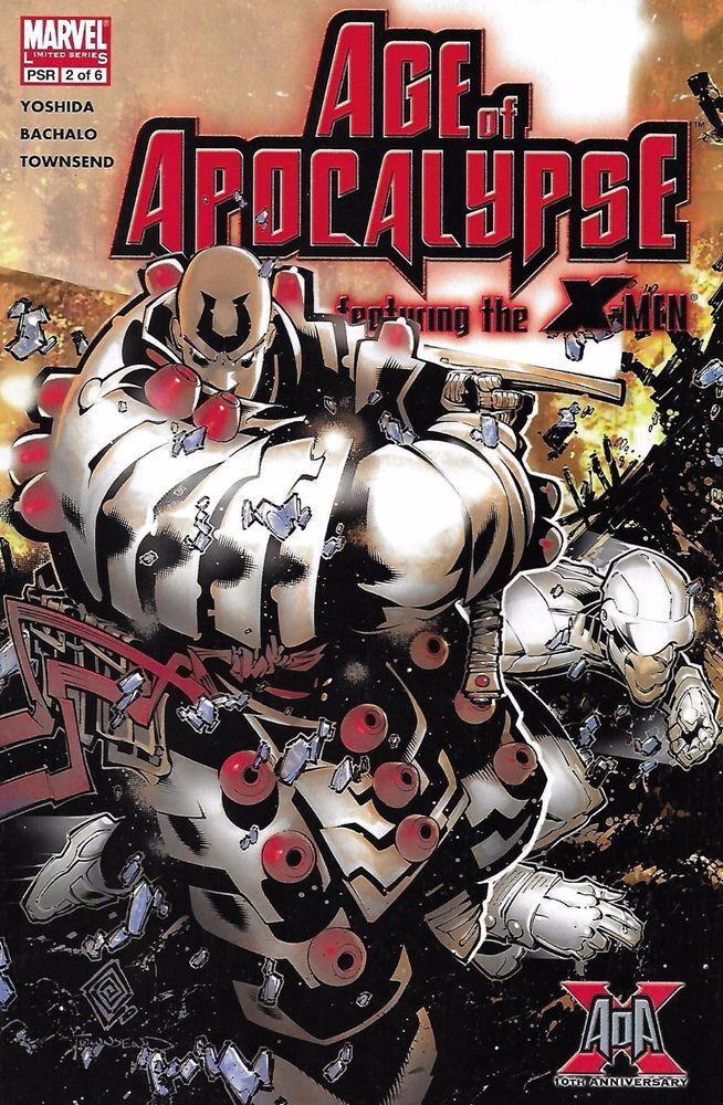 Marvel X-Men Age of Apocalypse comic issue 2