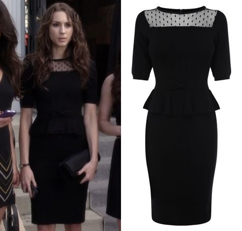 1 sleeve black dress for funeral