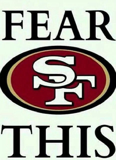 You should fear us Niner Fans ❤️