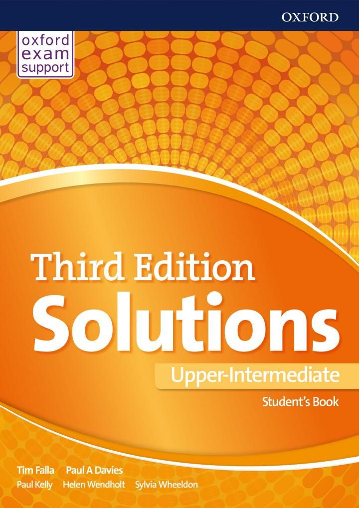 Solutions Third Edition Upper Intermediate Student S Book Teacher S Book Workbook With Key Teacher Books English For Beginners Student