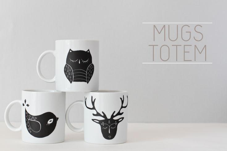 Asleep from day - totem mug