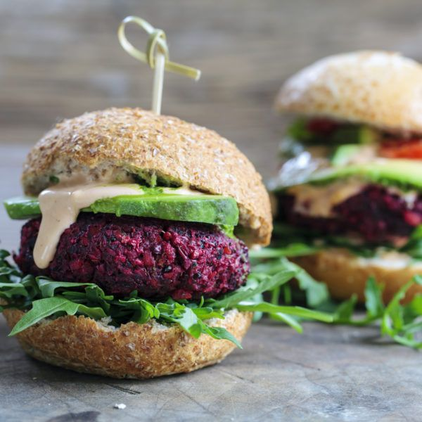 Turn up the beet! This beet burger will have everyone asking for seconds at your next grill out!