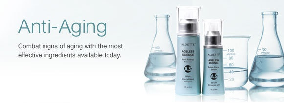 Ageless Science ~ Ionic Energy Balance and Active Energy Serum.  Ageless Science uses proprietary technology—previously found only in high-end Japanese salons—to deliver intensely hydrating hyaluronic acid to the inner layers of the skin to quickly reduce the appearance of lines and wrinkles. It targets uneven skin texture, this unique rejuvenating system helps clarify dull, ashy and splotchy skin for a more uniform looking tone. See instant results and long-term improvements.