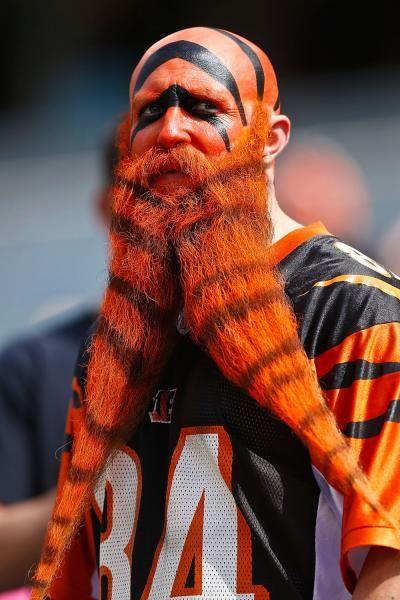 Cincinnati Bengals Fan, Misled Cincinnati aka Garey Faulkner