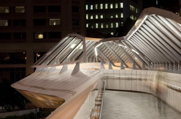 Darling Walk Bathurst Bridge Sydney - Lighting Design by Lend Lease